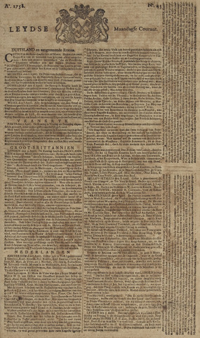 Leydse Courant 1758-04-10