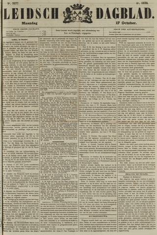 Leidsch Dagblad 1870-10-17