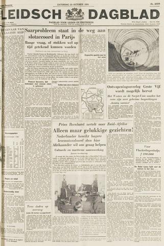 Leidsch Dagblad 1954-10-23