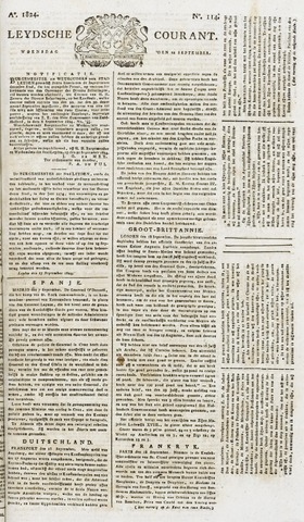 Leydse Courant 1824-09-22