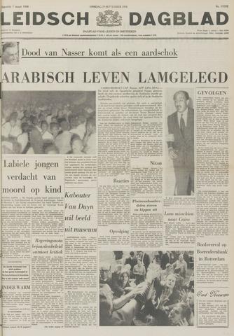 Leidsch Dagblad 1970-09-29