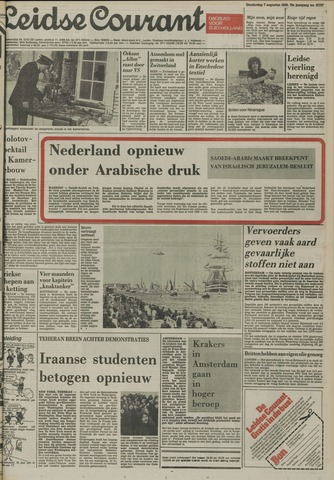Leidse Courant 1980-08-07