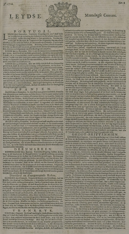 Leydse Courant 1726-01-14