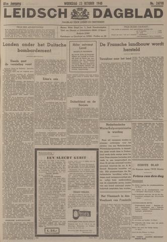 Leidsch Dagblad 1940-10-23