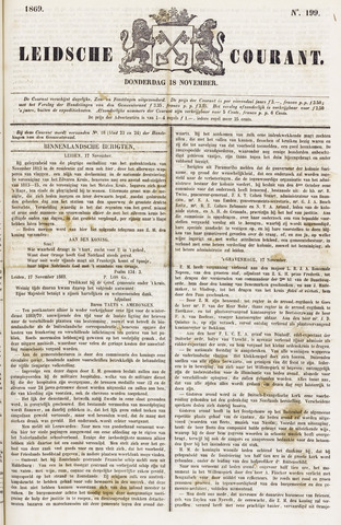 Leydse Courant 1869-11-18