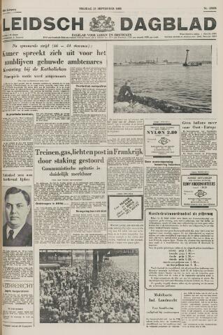 Leidsch Dagblad 1955-09-23