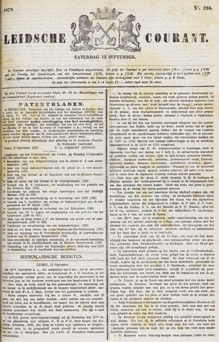 Leydse Courant 1879-09-13