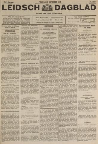 Leidsch Dagblad 1935-09-27