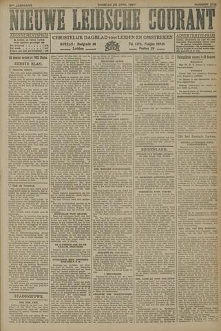 Nieuwe Leidsche Courant 1927-04-26