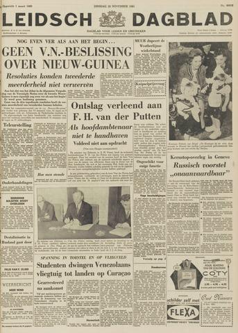 Leidsch Dagblad 1961-11-28