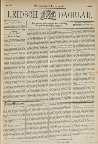Leidsch Dagblad 1893-02-01