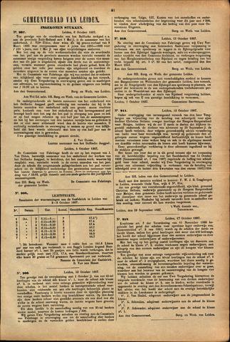 Handelingen van de Raad 1887-10-06