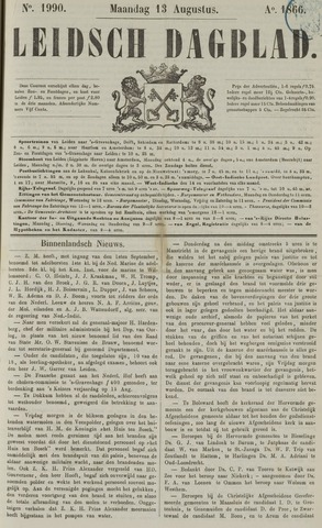 Leidsch Dagblad 1866-08-13