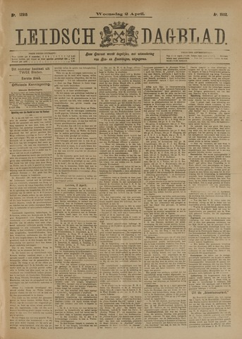 Leidsch Dagblad 1902-04-02
