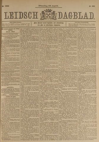 Leidsch Dagblad 1901-04-16