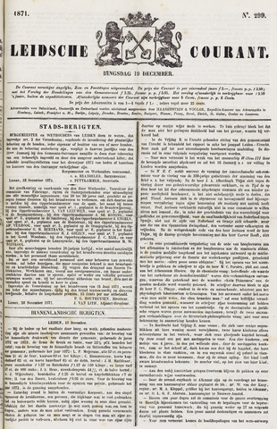Leydse Courant 1871-12-19