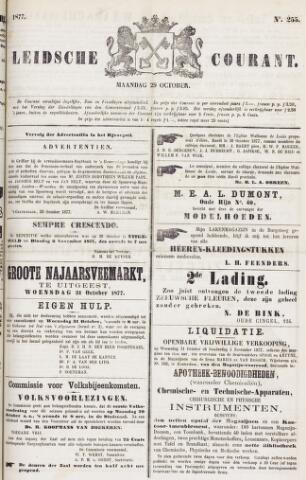 Leydse Courant 1877-10-29