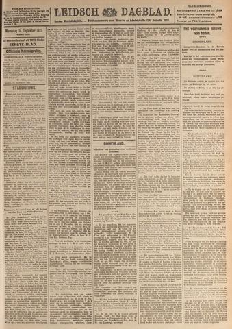 Leidsch Dagblad 1921-09-14