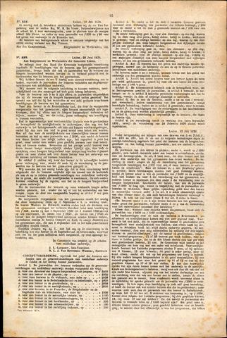 Handelingen van de Raad 1879-07-16