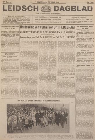 Leidsch Dagblad 1930-12-04