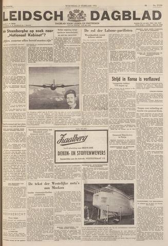 Leidsch Dagblad 1951-02-21