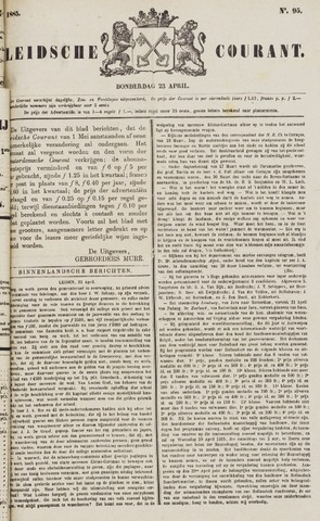 Leydse Courant 1885-04-23