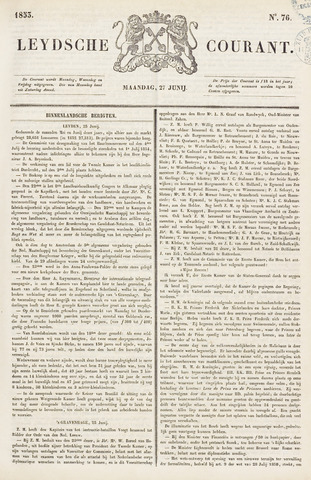 Leydse Courant 1853-06-27