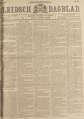 Leidsch Dagblad 1899-01-21
