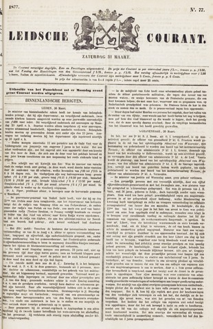 Leydse Courant 1877-03-31