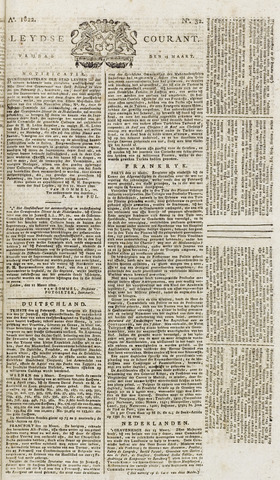 Leydse Courant 1822-03-15