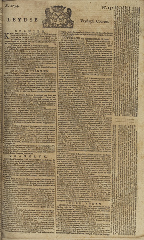 Leydse Courant 1754-11-15