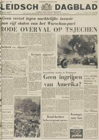 Leidsch Dagblad 1968-08-21
