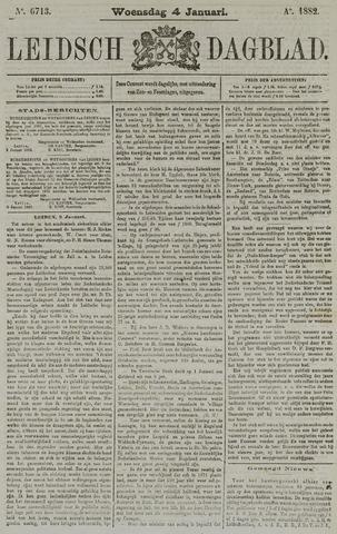 Leidsch Dagblad 1882-01-04