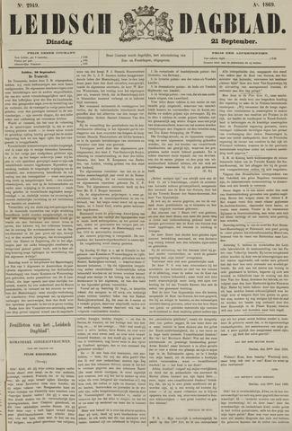 Leidsch Dagblad 1869-09-21