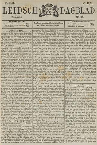 Leidsch Dagblad 1878-06-20