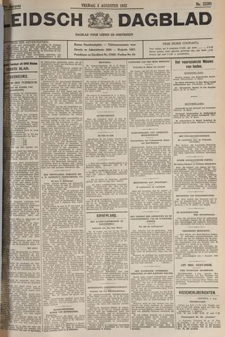 Leidsch Dagblad 1932-08-05