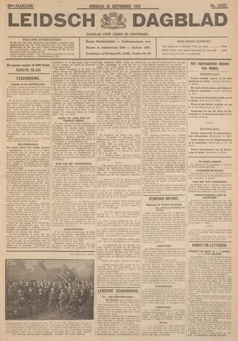 Leidsch Dagblad 1928-09-25