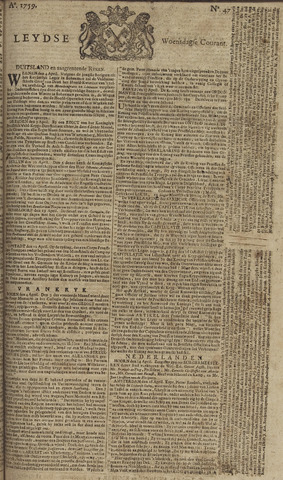 Leydse Courant 1759-04-18