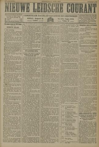 Nieuwe Leidsche Courant 1927-04-27