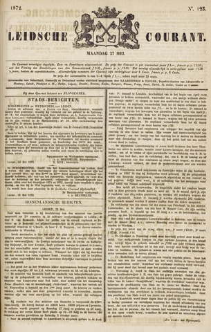 Leydse Courant 1872-05-27