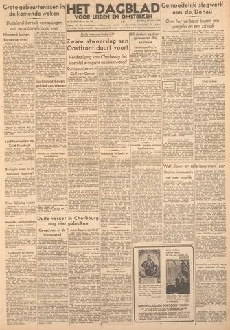 Dagblad voor Leiden en Omstreken 1944-06-27