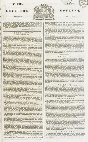 Leydse Courant 1838-07-20