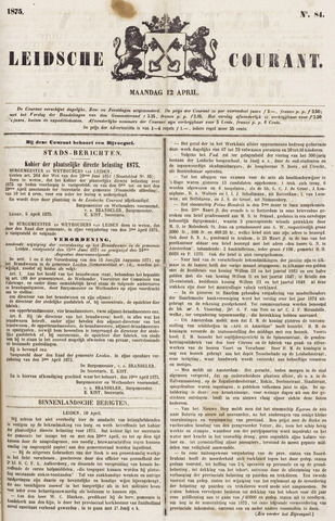 Leydse Courant 1875-04-12