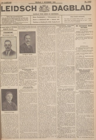 Leidsch Dagblad 1928-11-02