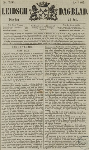 Leidsch Dagblad 1867-07-23