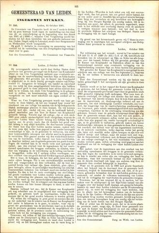 Handelingen van de Raad 1901-10-14