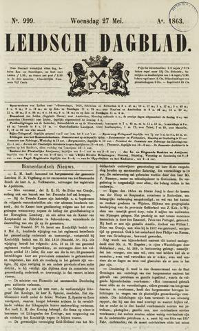 Leidsch Dagblad 1863-05-27