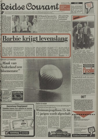 Leidse Courant 1987-07-04
