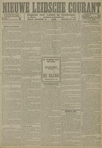 Nieuwe Leidsche Courant 1921-10-15