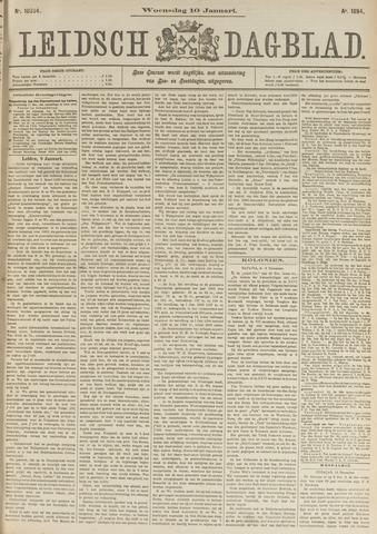 Leidsch Dagblad 1894-01-10